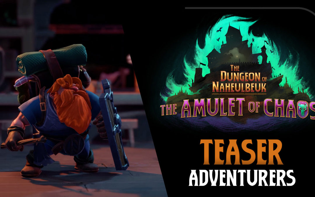 "Teaser: Adventurers from ""The Dungeon of Naheulbeuk: Amulet of Chaos"""