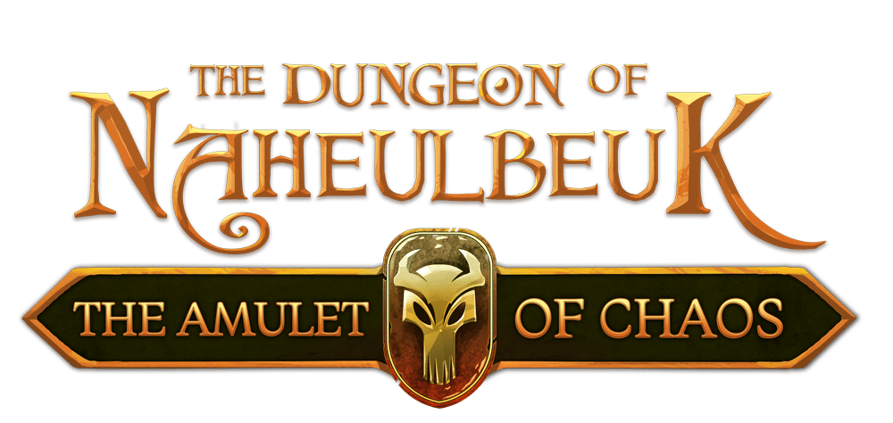 logo the dungeon of naheulbeuk