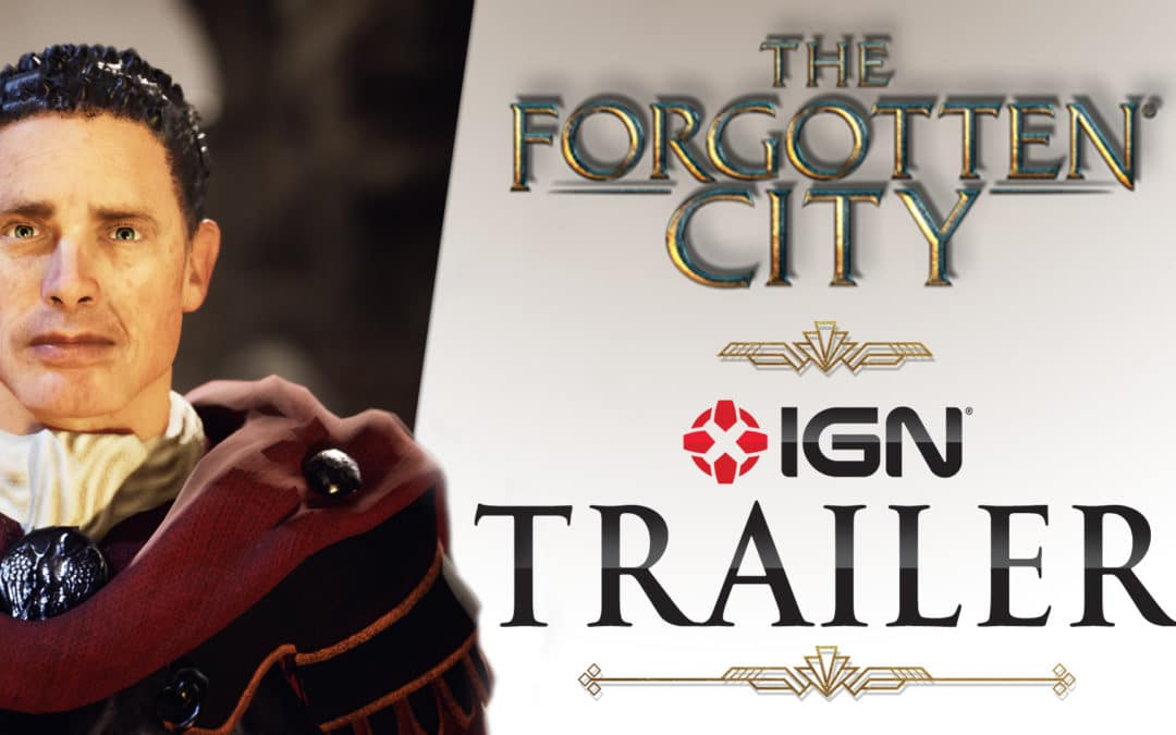 New trailer revealed for the Writers' Guild Award-winning 'The Forgotten City'