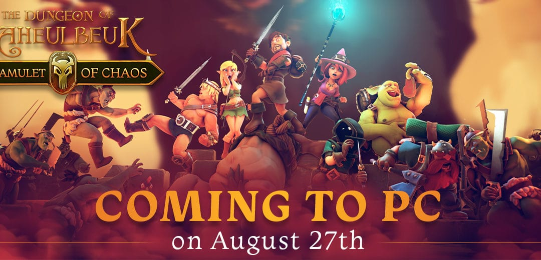 Offbeat tactical RPG The Dungeon of Naheulbeuk: The Amulet of Chaos launching on PC on 27th August